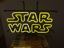 "17x14"" Star Wars Darth Vader Jedi Real Glass Neon Sign lighting Pinball(China (Mainland))"