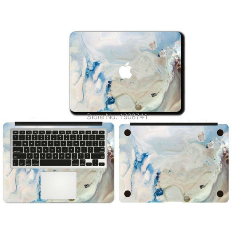 Moire Marble Grain Front Cover Laptop Decal Sticker Case For Apple Macbook Air Pro Retina 11 13 15 Inch Protective Cover Skin<br><br>Aliexpress