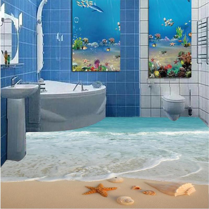 3d papier dessin promotion achetez des 3d papier for Salle de bain sol 3d