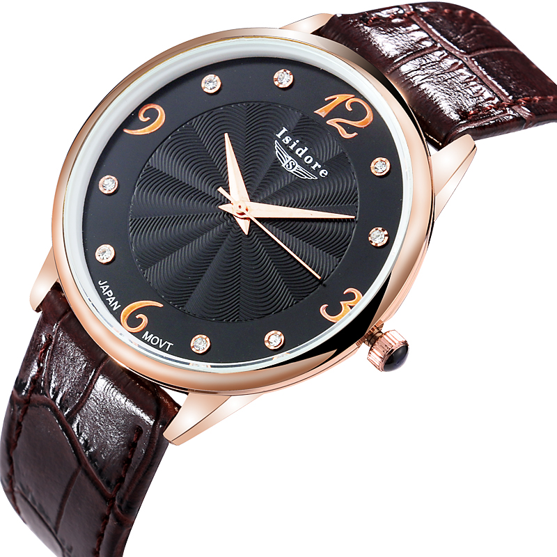 isidore waterproof brand top quality s fashion watches