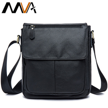 Buy MVA Men Messenger Bags Brand Genuine Leather Bag Shoulder Crossbody Bags Casual Handbag Leather Men Bag Travel Small Flap for $28.00 in AliExpress store