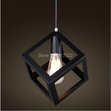 Free shipping EDISON VINTAGE PENDANT LIGHT restoring ancient ways  Rustic Iron Cage Hanging Ceiling Lamp light(China (Mainland))