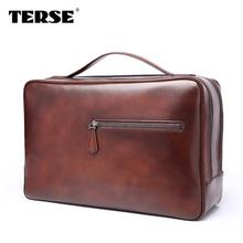 Italian calkfskin handbag china supplier OEM custom Top quality briefcase bags for men leather laptop case portfolios discount