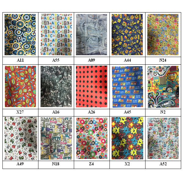 2015 free shipping pul print cloth diaper fabric for Knit fabric childrens prints