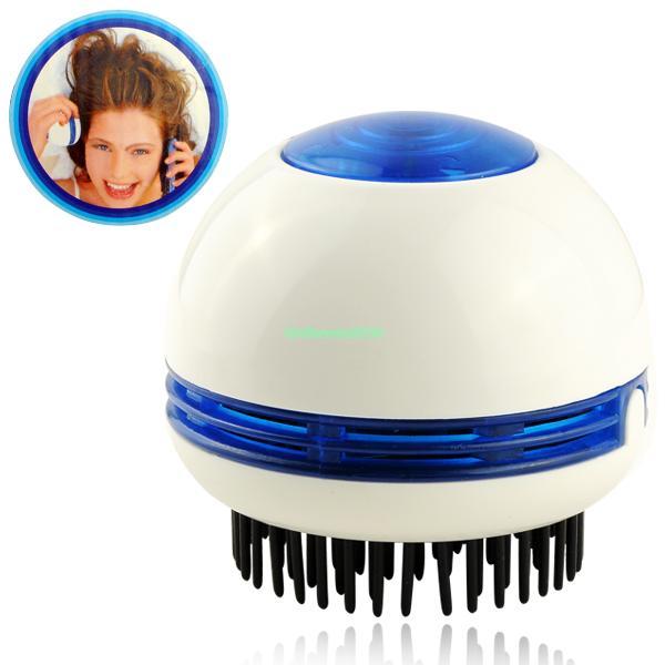 handheld mini electric hair scalp head massager vibrating brush comb hair care relax body massager massageador EG7067(China (Mainland))