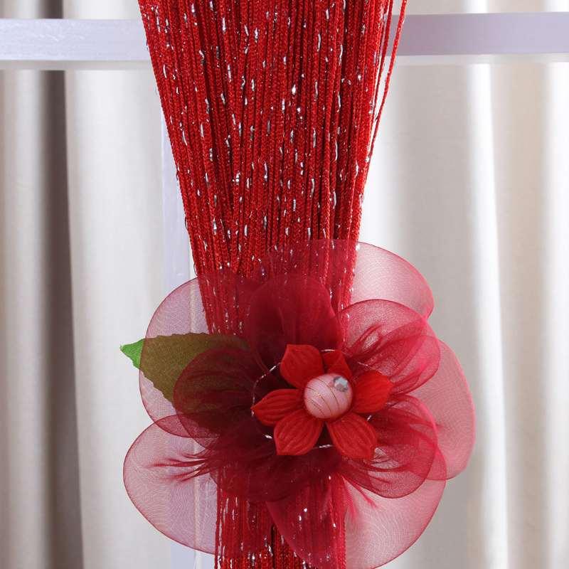 온라인 구매 도매 빨간색 실크 커튼 중국에서 빨간색 실크 커튼 ...