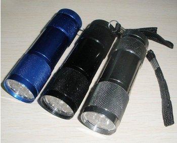 9 LED Flashlight LED lamp Flashlight