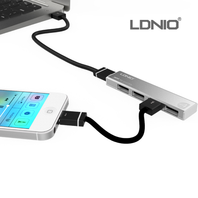 how to connect a usb hub to a computer