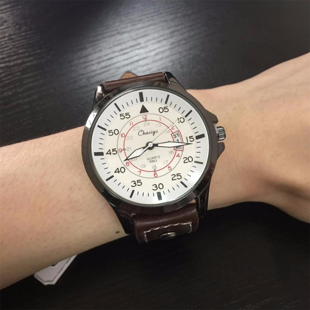 Chaxigo Discount Cheap Quartz Watches Wholesale Online Relogio Masculino Factory Good Quality Mens Wristwatch Fashion Waterproof(China (Mainland))