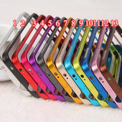 S5 Case Ultra Thin Metal Bumper Aluminum Frame For Samsung Galaxy S5 i9600 Luxury Auto-Lock Buckle Metal Frame Phone Bag Fundas(China (Mainland))
