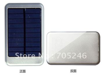 5000MAh solar charger External Battery for ipad, iphone, smart phone