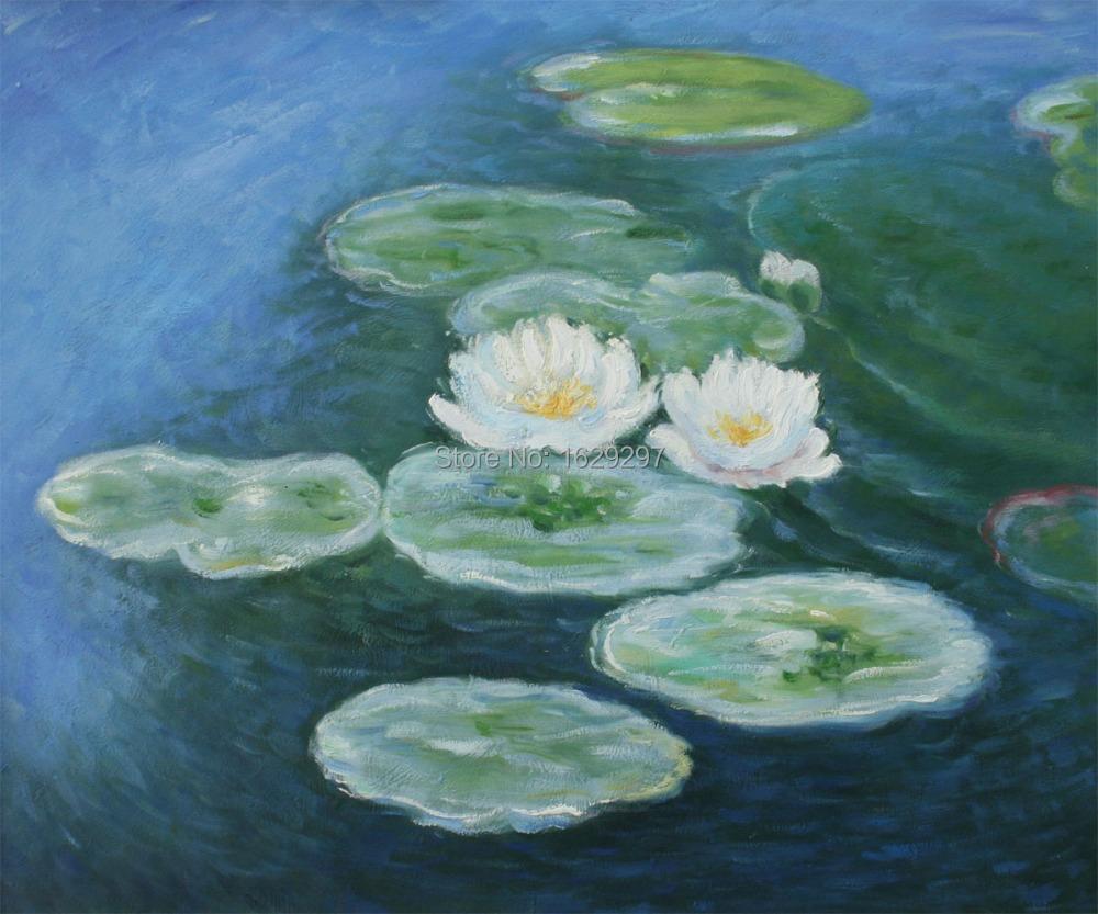 Comparer les prix sur claude monet water lilies online shopping acheter prix bas claude for Peinture de qualite