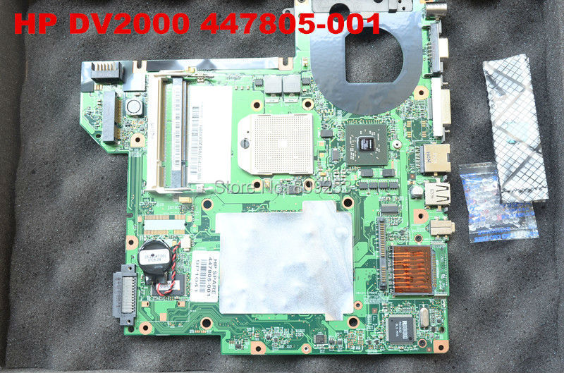 Здесь можно купить  Free shipping for  HP Pavilion DV2000 Laptop AMD CPU Motherboard  447805-001 431843-001 447806-001  fully TESTED  Компьютер & сеть