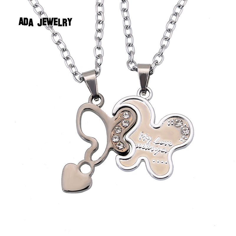the gallery for gt cute couple necklaces