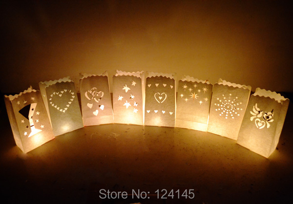 2014 Sale Special Offer Freeshipping 0.7-0.9m Decoration Gifts Navidad 10x Fire Wedding White Paper Candle Lantern Bags Favor(China (Mainland))