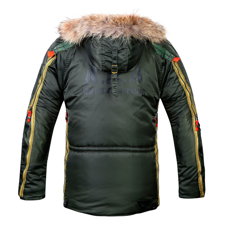 Winter coat Men 2015 Jackets Brand Cotton Padded Jacket Man s Coat Cotton Padded overcoat fur