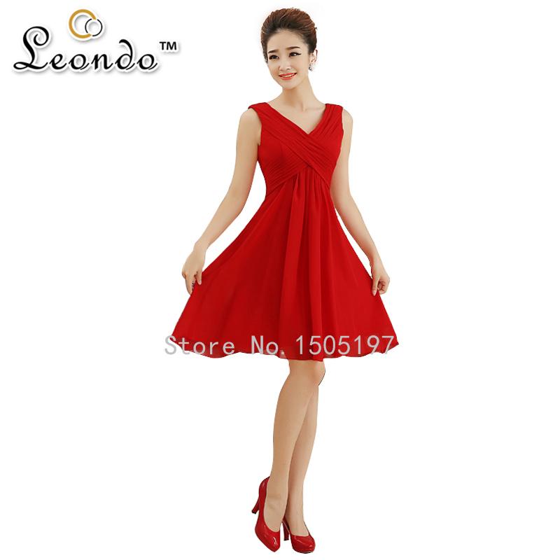 Short Red Bridesmaid Dresses | But Dress