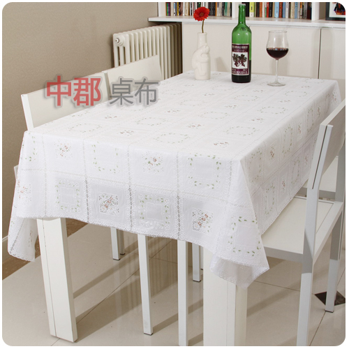 Disposable waterproof oil dining table cloth tablecloth square round table cloth plastic table cloth pvc style(China (Mainland))