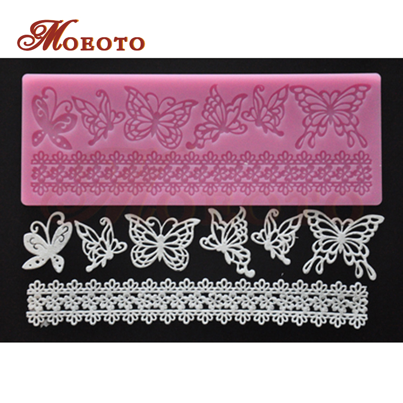 Cake Decorating Company Promo Code : Free shipping butterfly design cake silicone,cake border ...