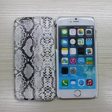 Sexy Snake Skin Pattern Phone Case For iPhone 6 6s 6plus 7 Soft PU Leather + Hard PC Mobile Phone Accessories Back Shell Cover
