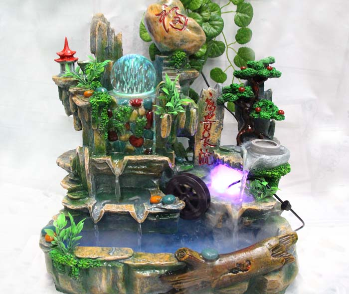 온라인 구매 도매 water flow fountain home decor 중국에서 water flow ...