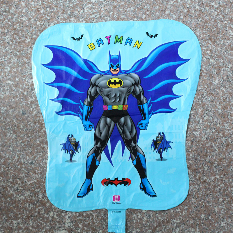 NEW 45*55cm batman ballon 50pcs/lot helium balloons for bairthday decoration foil balloons party supplies free shipping<br><br>Aliexpress