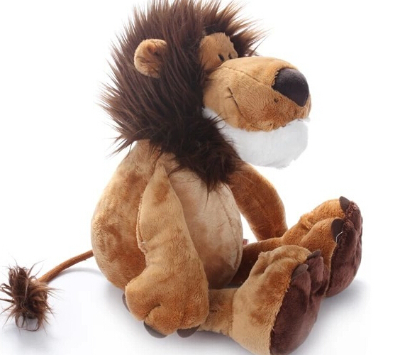 J1 Free shipping, hot sale jungle series lion stuffed plush toy 15CM 25CM 35CM 50CM 70CM 1pc