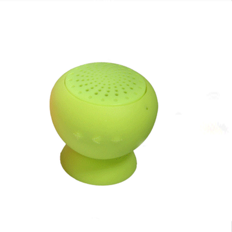 new car-styling Waterproof Silicone Sucker Mushroom Mini Wireless Bluetooth Speaker Hands Free Speakers For Android Devices