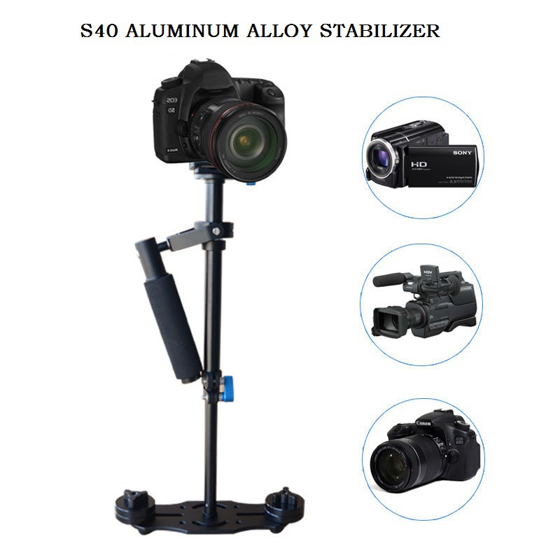 S40 40cm Aluminum Alloy Handheld Stabilizer Steadicam Camcorder Camera Video DV DSLR DHL - ZLY Technology Co., LTD store
