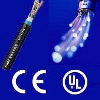 Waterproof china optical fiber cable with CE and ISO