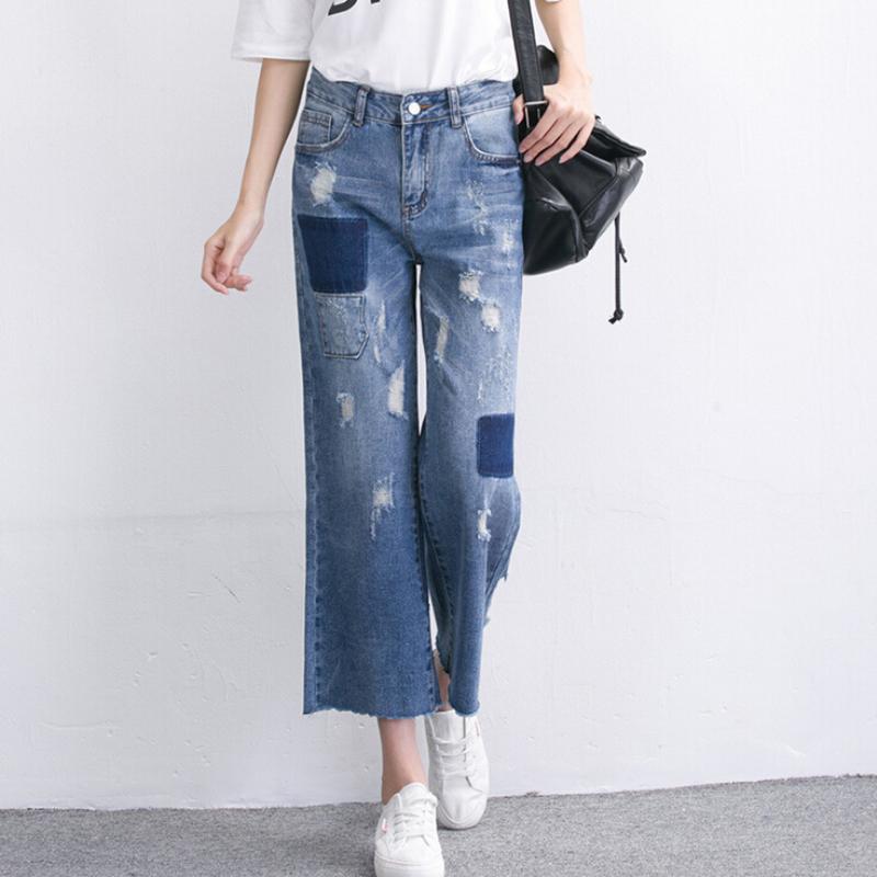 online kaufen gro handel zerrissene baggy jeans aus china. Black Bedroom Furniture Sets. Home Design Ideas
