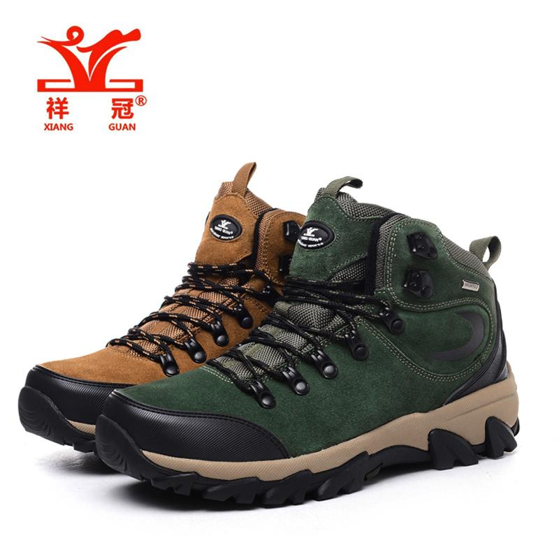 XIANG GUAN Brand MenS Hiking Outdoor Climbing Anti-Fur Wear Hiking Shoes Outdoor Shoes To Help High Cheap Sale Online<br><br>Aliexpress