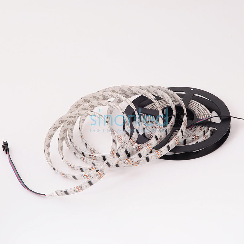 Wholesale 5M 52 LEDs/m pixels LPD8806 IP65 Waterproof Dream Color SMD 5050 LED Light Strip individually Addressable DC5V(China (Mainland))