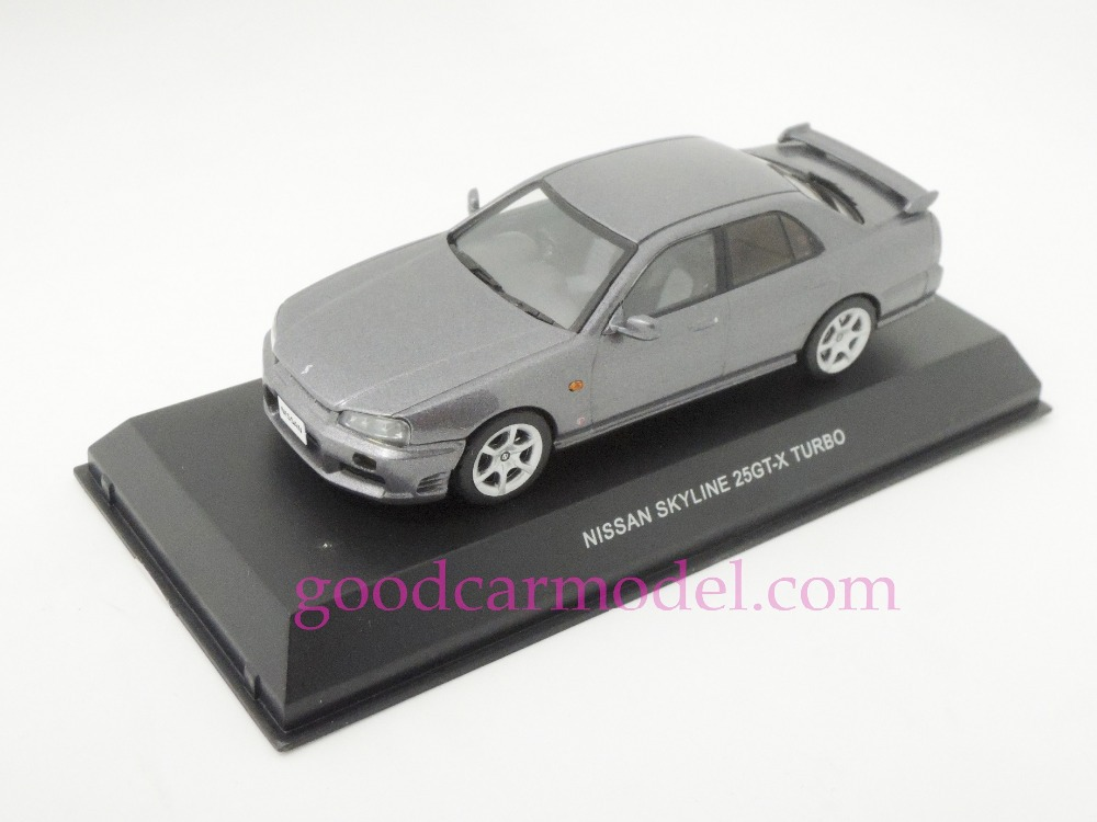 New Kyosho 1:43 Car Model Nissan Skyline 25GT-X Turbo 1998 03251AS Free Shipping From HK(China (Mainland))