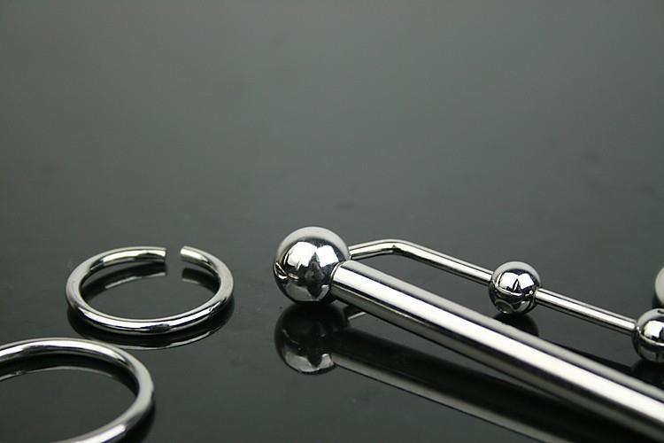 6 * 80 мм из нержавеющей стали катетер звучит уретры расширители уретры мужской целомудрие устройство пениса блокировка секс игрушки для мужчин продукты секса