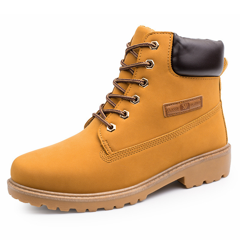 Men Boots CLASSIC FOOTWEAR Motocycle Boots Rugged Styling 2016 Men Combat Ankle Boots Waterproof Botas Size 39-47(China (Mainland))