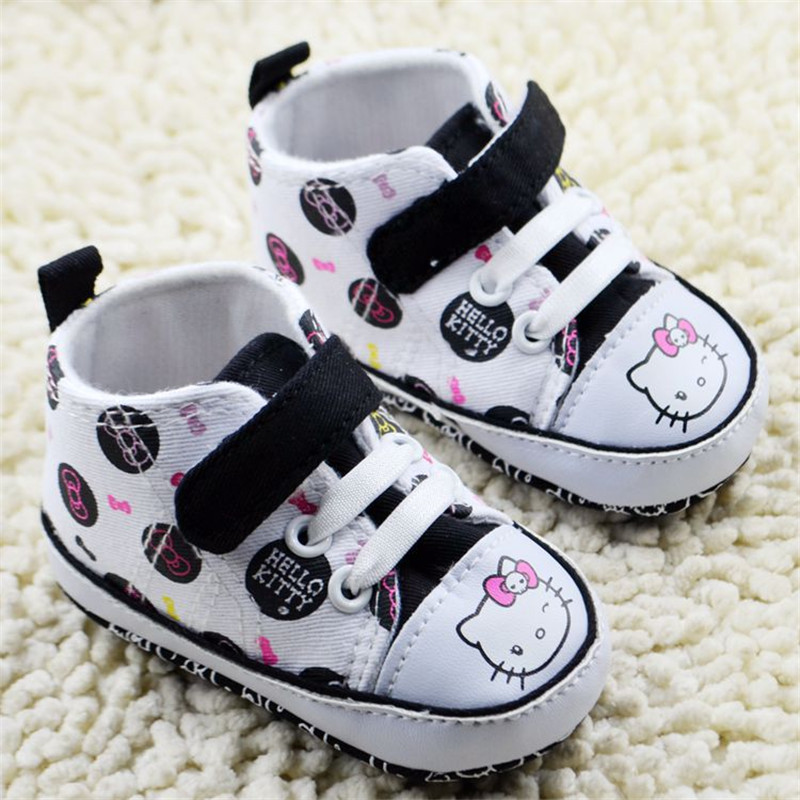 7 Pairs/lot Baby Girls Shoes 2016 New Lovely Cat Design leisure Infant Toddlers Shoes Good quality <br><br>Aliexpress