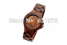 Sunray Dial Bewell Unique Design Water Proof Japan movement Wood Wooden Watch in Gift Box