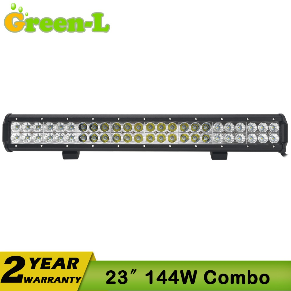 Фотография 22Inch 144W CREE LED Light Bar SPOT FLOOD COMBO Offroad Truck Boat ATV 4WD FOR JEEP Car OFFROAD TRUCK SUV 72W/126W/144W/180W