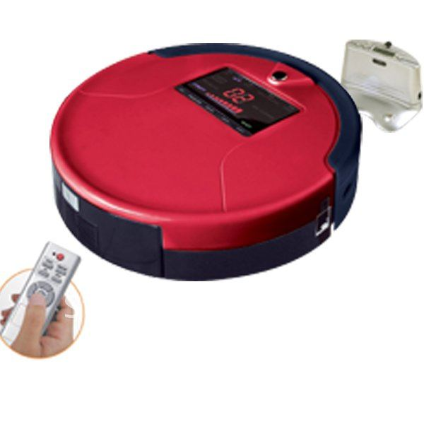 Free Shipping For Russian Buyer / Red Color 788A Intelligent Vacuum Cleaner ,Auto Recharged ,Remote Controller ,Virutal Wall(China (Mainland))