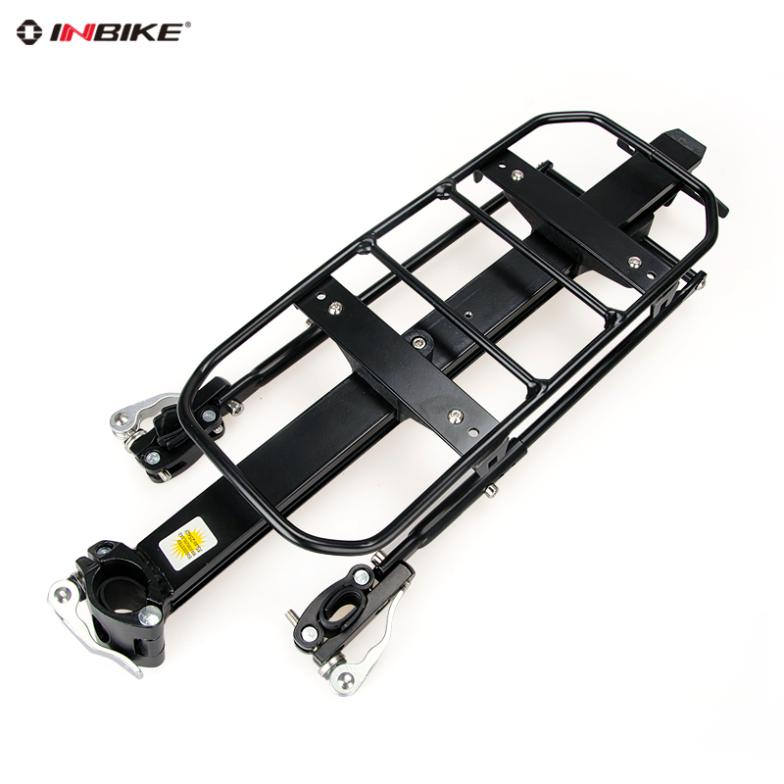 Inbike quick release bicycle stacking shelf aluminum alloy load shelf mountain bike back seat ride bicycle accessories<br><br>Aliexpress