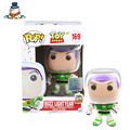 QuanPaPa New Genuine FunKo POP Toy Story Buzz Lightyear 169 Model Action Figurine doll car