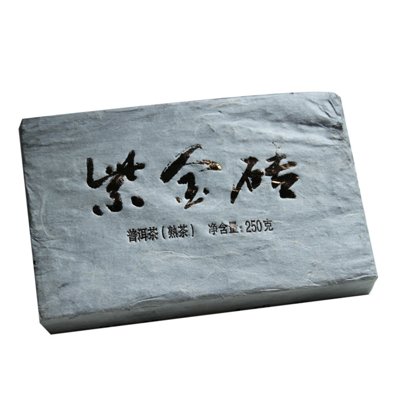 200g Mengku Shu Puer Tea Brick Honey Taste Pu er Chinese Slimming Weight Loss Shen Cha