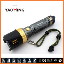 Multifunction Anti drop flashlight tactical lanterna high power led torch AAA/18650/26650 led lamp with life hammer for camping(China (Mainland))