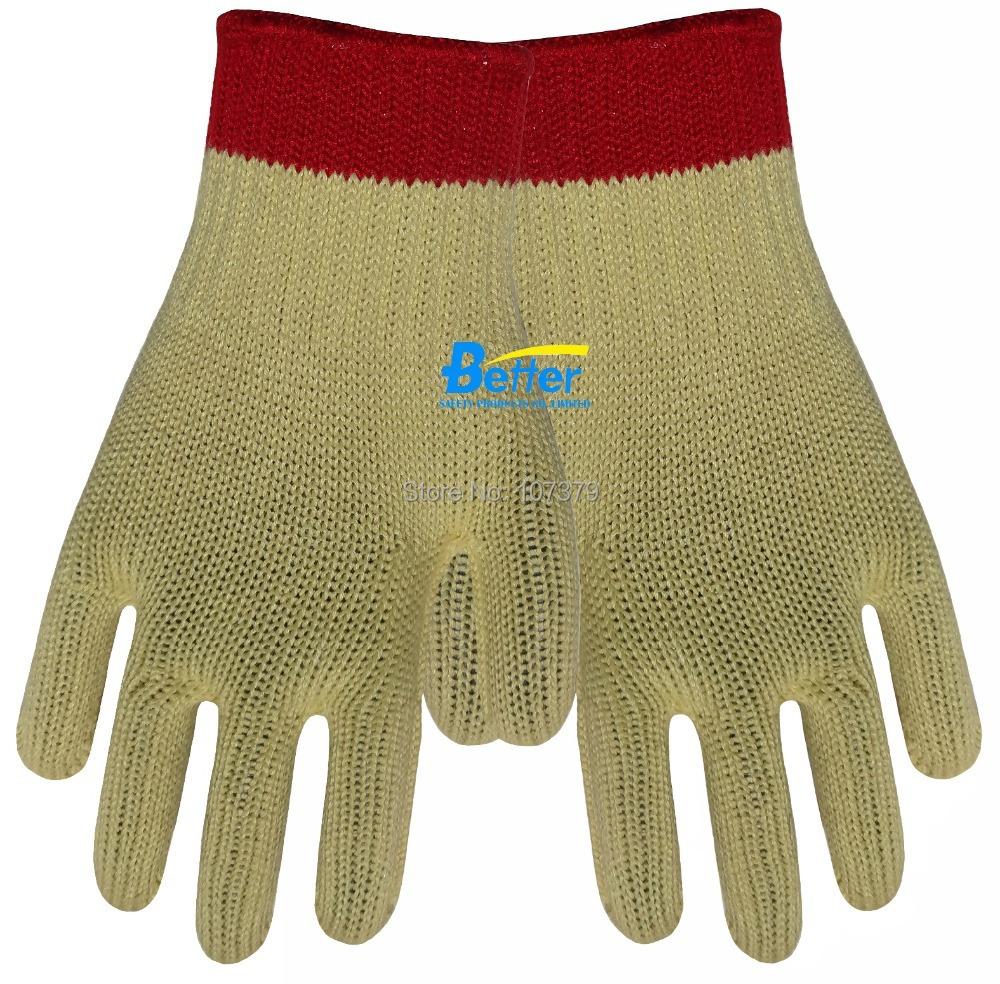 Cut Resistant Working Gloves Steel Gloves HPPE Gloves Anti Cut Aramid Fiber Work Gloves