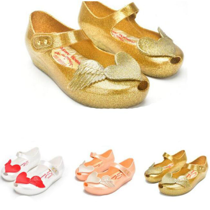 Children sandals shoe PVC soft outsole children girls cupid shoes kids shoes (Store Open 5years)(China (Mainland))