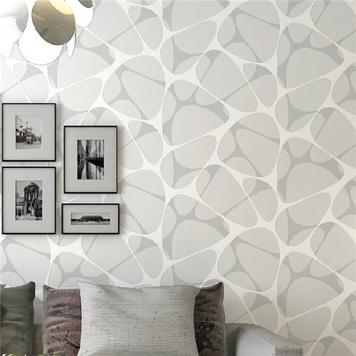 Online get cheap wallpaper geometric design alibaba group - Interior decoration with paper on walls ...