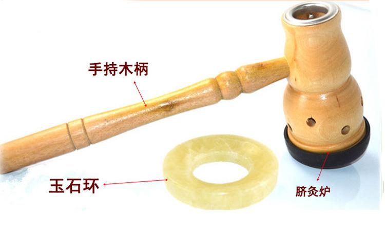 bamboo moxa stick burner navel treatment moxibustion physiotherapy Health care free shipping(China (Mainland))