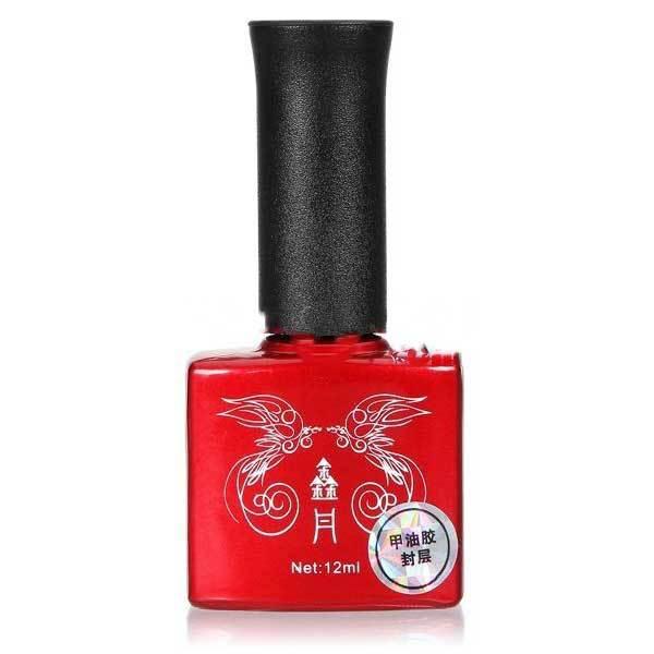 Lovestores UV Topcoat Top Coat Seal Glue Acrylic Nail Art Polish Gloss Gel(China (Mainland))