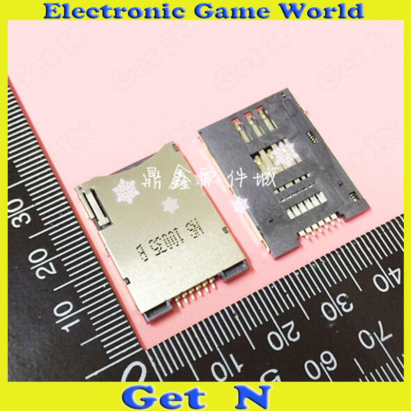200pcs Commun Use 6P SIM Card Sockect 6Pins Push- Push Type Sim Jack<br><br>Aliexpress